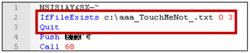 Detección de entorno virtual a través del archivo de prueba de Windows Defender